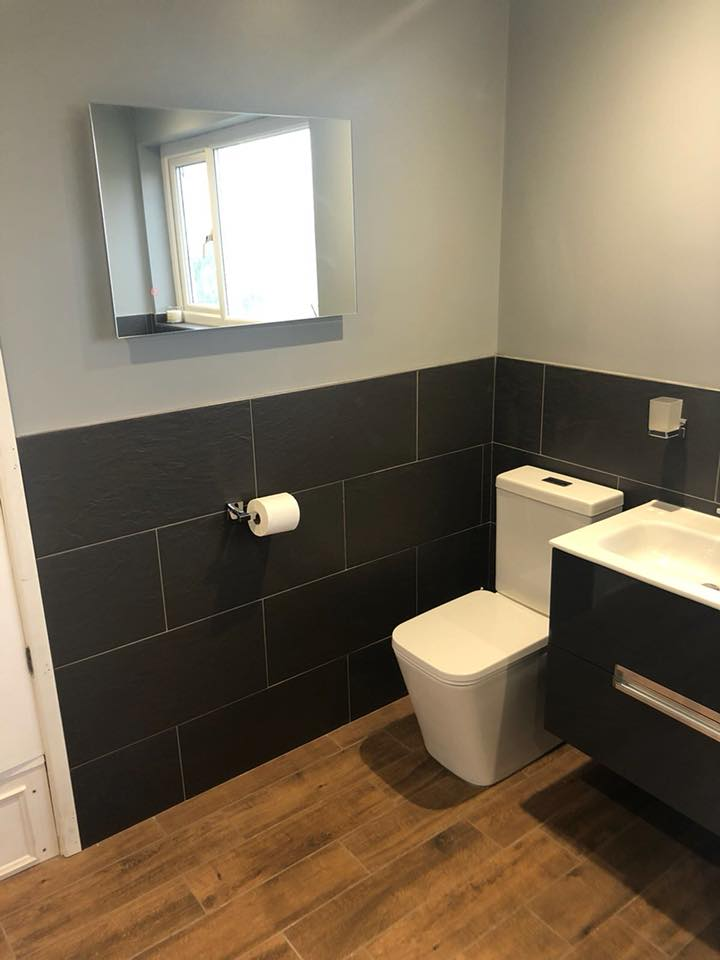 Complete bathroom refurbishment