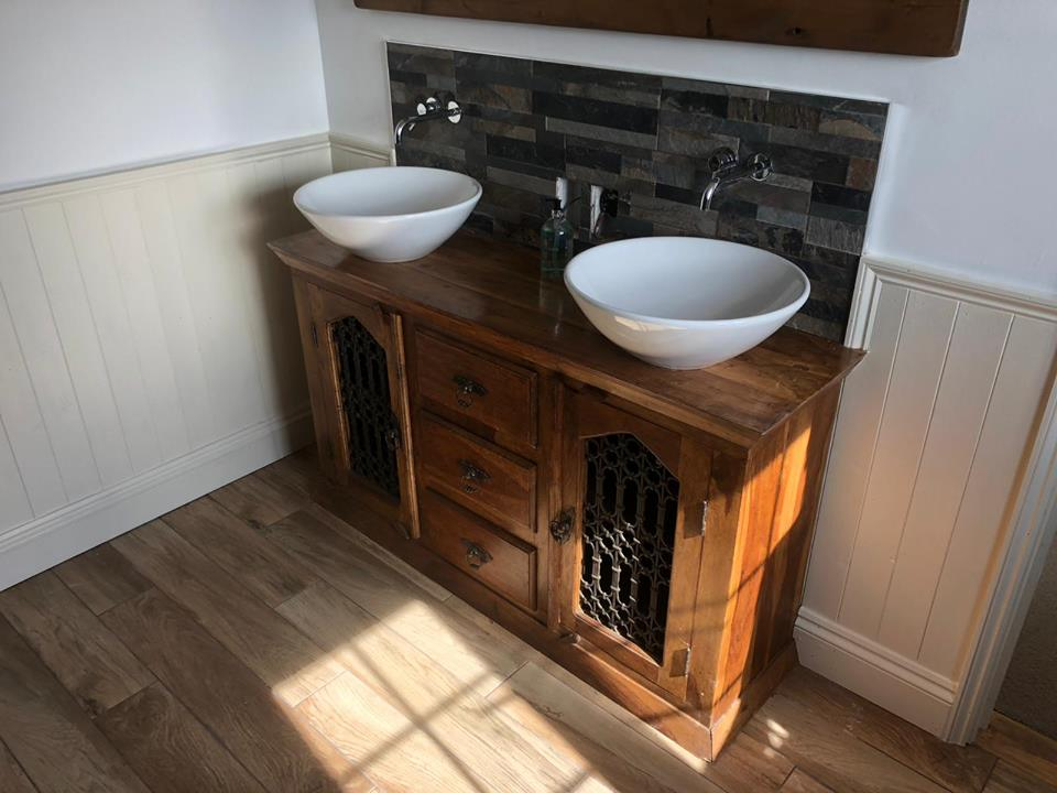 Complete bathroom refurbishment design