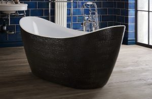 crocodile skin bathtub - bathroom southampton
