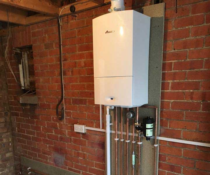 central heating boiler - bathrooms southampton