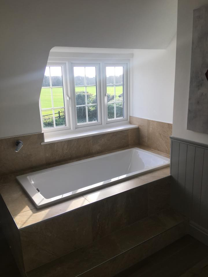 roman style bath - bathrooms southampton