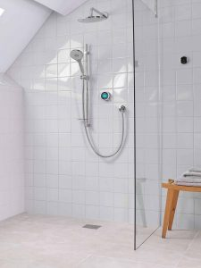aqualisa q shower - innovation bathrooms
