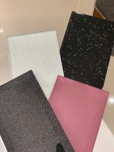 glitter tiles - bathroom southampton