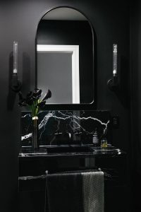 black bathroom trends 2019 - innovation bathrooms hampshire